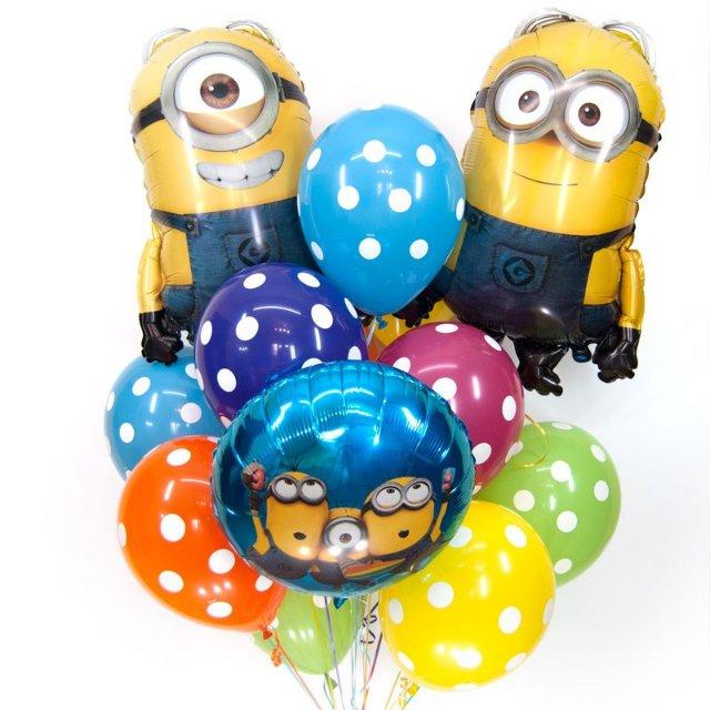 Воздушный шар – любимое детское украшение