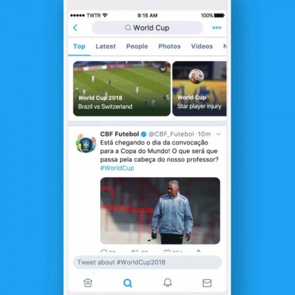 Twitter начал персональную рассылку новостей